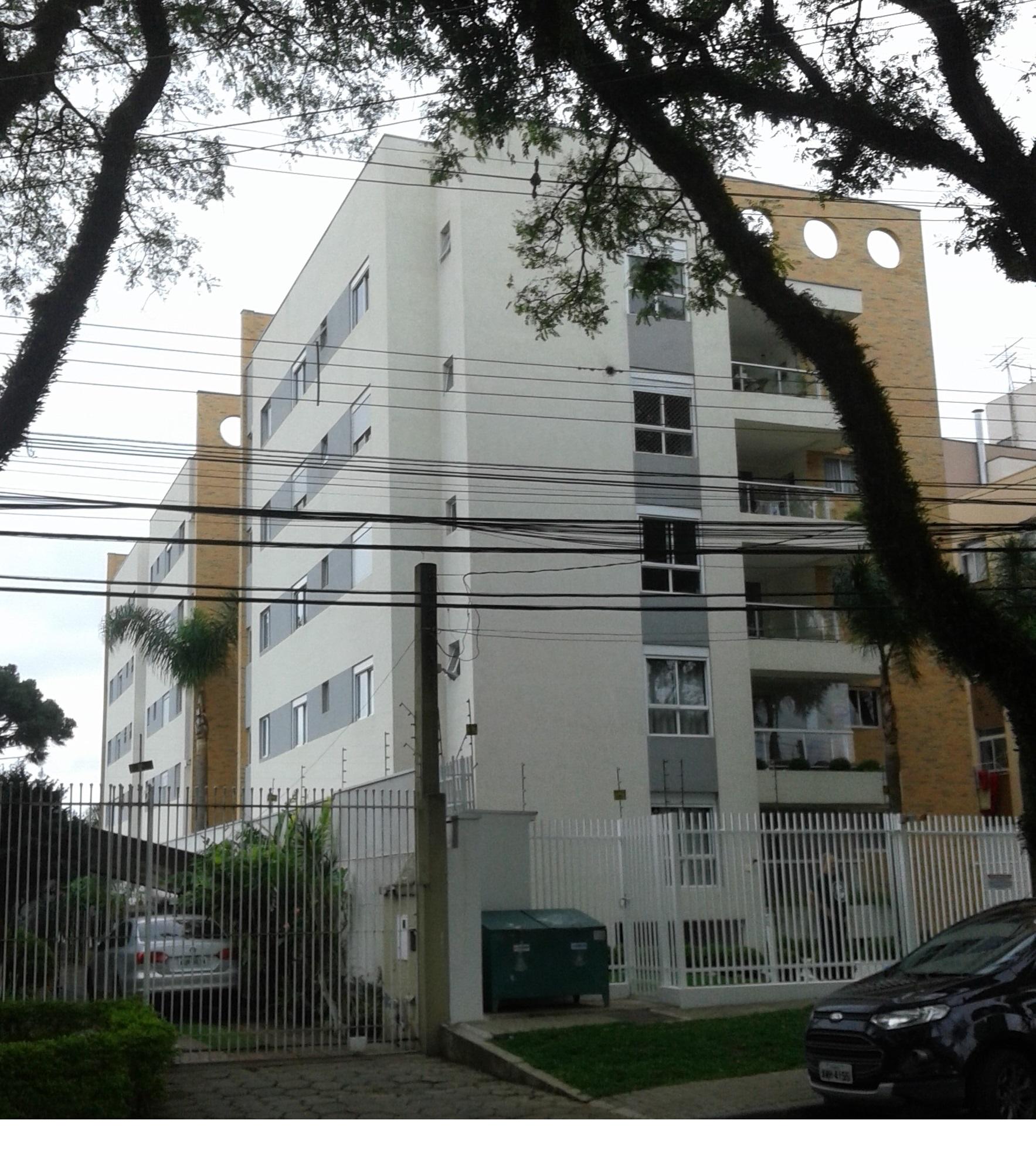 Habitação coletiva Ed. Jardins do Sol, A=3942,71 m², subsolo + 5 pavimentos. Estrutura em concreto armado, fundação tubulão a céu aberto. Construtora ABCR